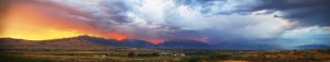 Sunset along the Wasatch Front